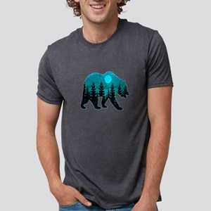 A BLUE MOON Mens Tri-blend T-Shirt